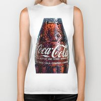 coca cola Biker Tanks featuring The Real... by LesImagesdeJon