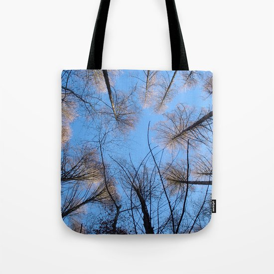 Glowing trees II Tote Bag