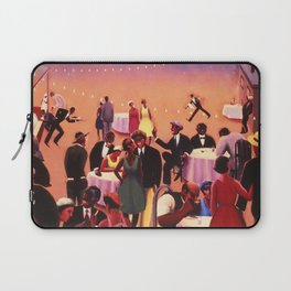 Barbecue by Archibald Motley Laptop Sleeve