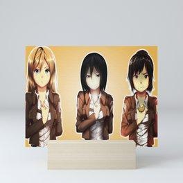 Attack On Titan Sasha Blou Mini Art Print