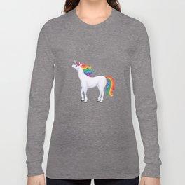 whimsy (rainbow unicorn) Long Sleeve T-shirt
