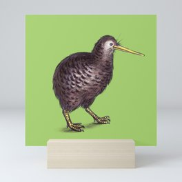 Little Spotted Kiwi Mini Art Print
