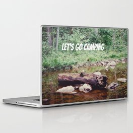 Let's Go Camping II Laptop & iPad Skin