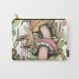 mushrooms in the wild Carry-All Pouch
