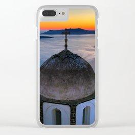 Santorini 21 Clear iPhone Case