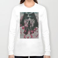 mia wallace Long Sleeve T-shirts featuring Mia by Robotic Ewe