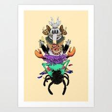 Manymals. Art Print