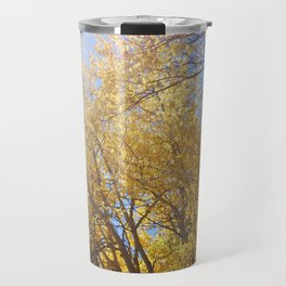 Quaking aspen at EstesPark, CO Travel Mug