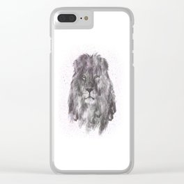 Lion Just Wants to have Fun Clear iPhone Case