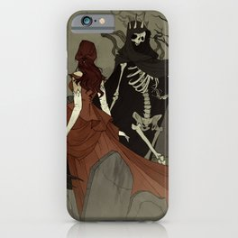 Danse Macabre iPhone Case