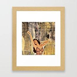 Give me Life! Framed Art Print