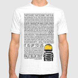 Pale Blue Dot: Carl Sagan T-shirt