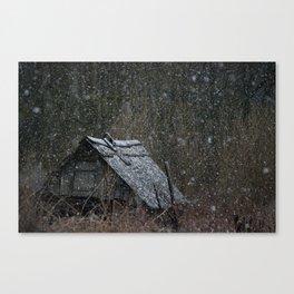 Echo of Russian Villages lighter version Canvas Print