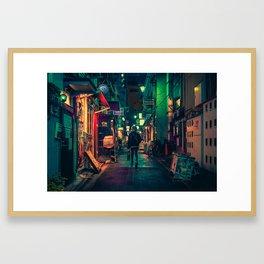 Down the Rabbit Hole/ Anthony Presley Photo Print Framed Art Print