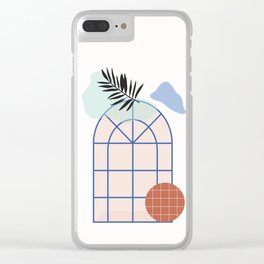 // Royal Gardens 02 Clear iPhone Case