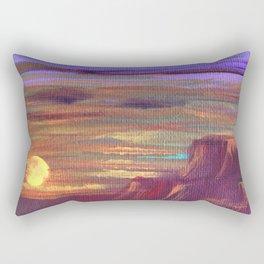 Magical Southwest Night Sky Rectangular Pillow