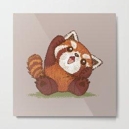 Cute Red panda Metal Print