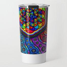 kaleidoscope of life Travel Mug