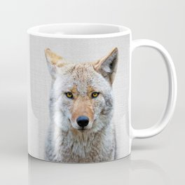 Coyote - Colorful Coffee Mug