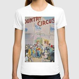 1892 Jefferson, Klaw, and Erlanger – Circus Salesmen Sample Circus Poster T-shirt