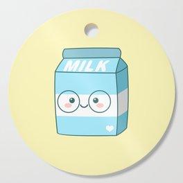 Kawaii Milk Cutting Board