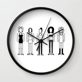 Spice Girls Wall Clock