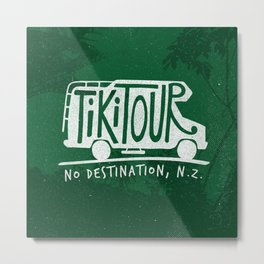Tiki Tour Metal Print