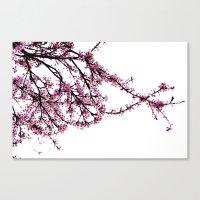 sakura Canvas Prints featuring sakura by MILDA HE