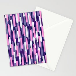Fast Capsules Vertical Violet Stationery Cards