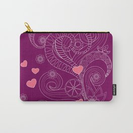 Zen cup of tea with love Carry-All Pouch