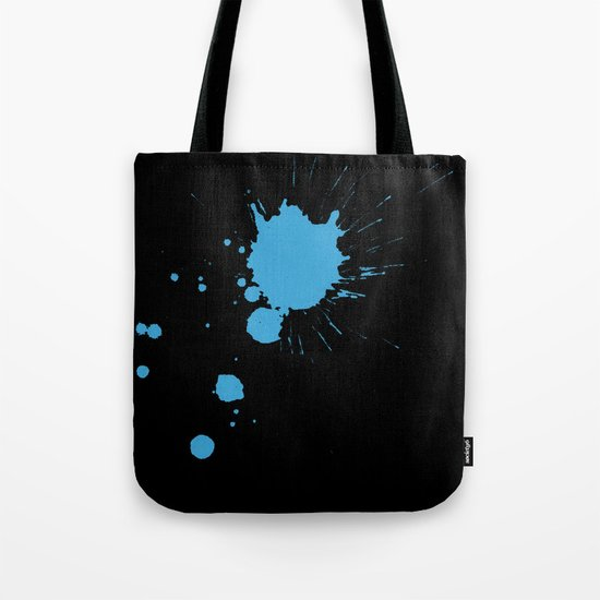Ink Splat Tote Bag