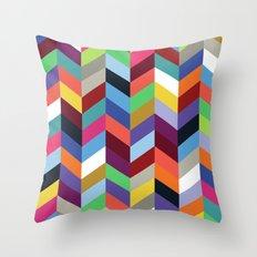 Chevronica Series: Soirée Throw Pillow
