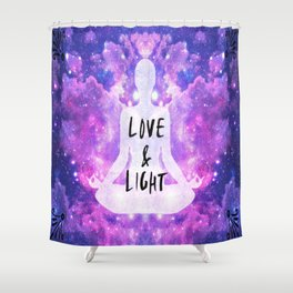 Love & Light Shower Curtain
