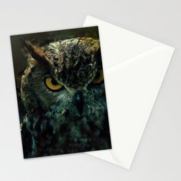 Owl - Owlish Tendencies Stationery Cards
