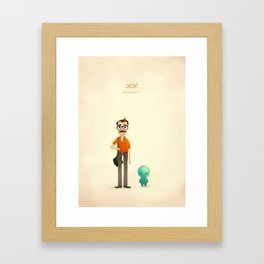 Her Framed Art Print