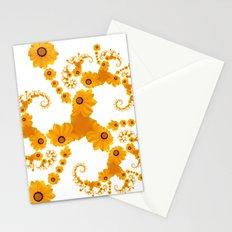Fractal Flower Stationery Cards
