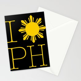 I Love Philippines Stationery Cards