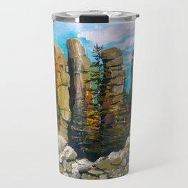 BOULDER GARDEN, TUMBLER RIDGE, B.C Travel Mug
