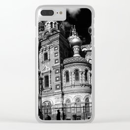 Saviour on spilled blood \\ St Petersberg, Russia Clear iPhone Case