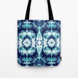 Celestial Nouveau Tie-Dye Tote Bag