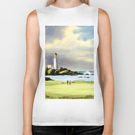 Turnberry Golf Course Scotland 10th Green Biker Tank