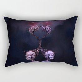 Double Face Woman Rectangular Pillow