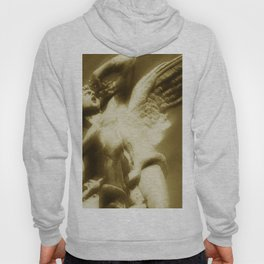 Fallen Angel Vertical Gold Hoody