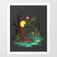 Headless Hunter Art Print