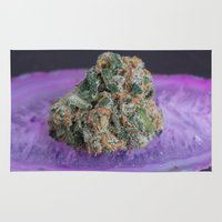 medical Area & Throw Rugs featuring Jenny's Kush Medical Marijuana by BudProducts.us