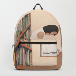 Getting Lost in a Book Backpack