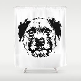 BORDER TERRIER DOG Shower Curtain