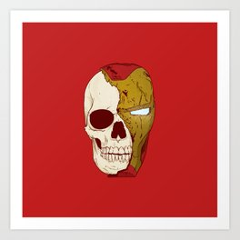 Halfsies: Ironman Art Print