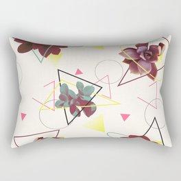 Spatial Succulents #redbubble #decor #buyart Rectangular Pillow