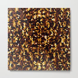 Mosaic Texture G37 Metal Print